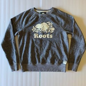 Roots Canada Womens M Organic Cotton Crew Neck